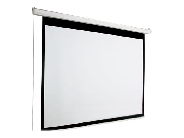 Draper AccuScreen Electric Projection Screen with IR Remote, 16:9, 119, 800007, 7439905, Projector Screens