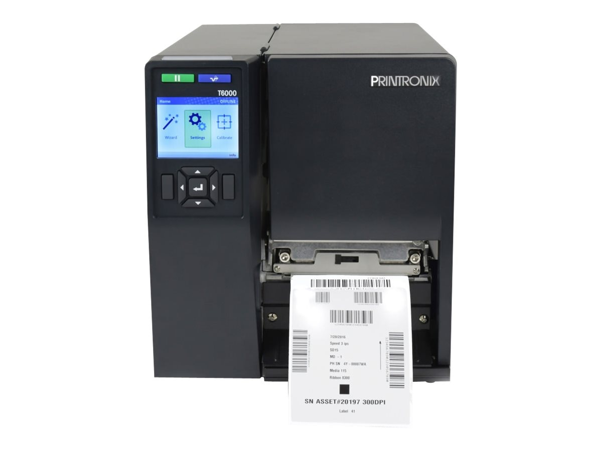 Printronix T6304 4 300DPI AM WI Printer, T63X4-1110-00