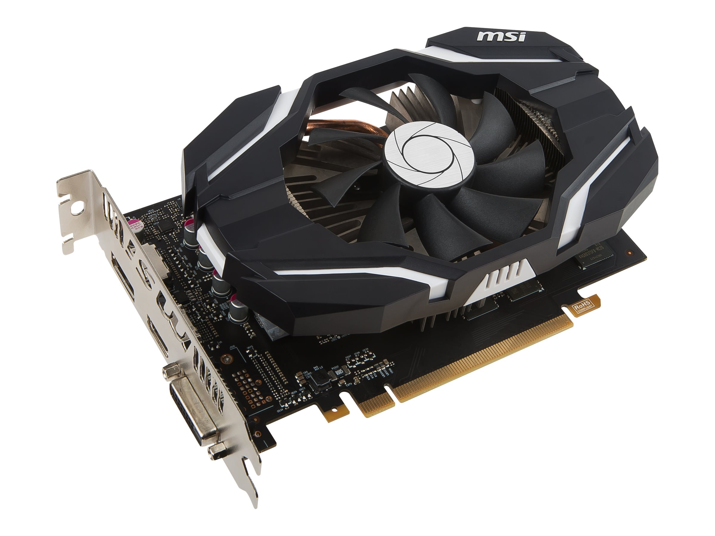 Microstar NVIDIA GeForce GTX 1060 PCIe 3.0 x16 Overclocked Graphics Card, 3GB GDDR5, GTX 1060 3G OCV1