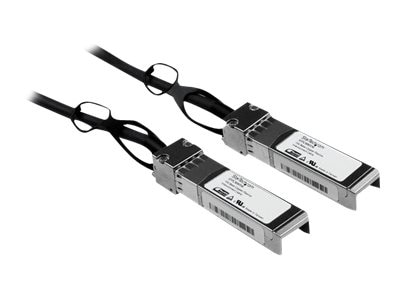 StarTech.com 10Gbase Copper SFP+ Direct Attach 30AWG Passive (M-M) Cable, 1m, SFPCMM1M