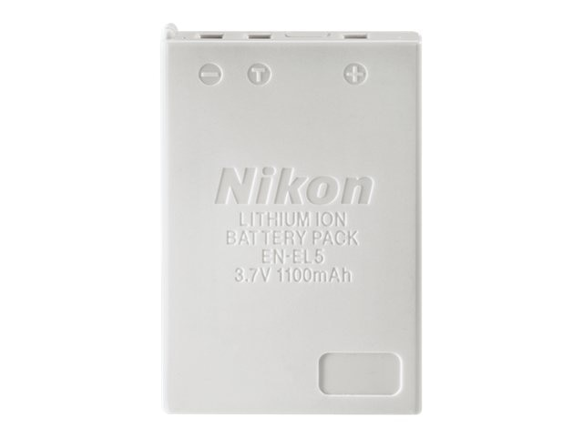 Nikon EN-EL5 Rechargeable Li-Ion Battery, 25625, 471836, Batteries - Camera
