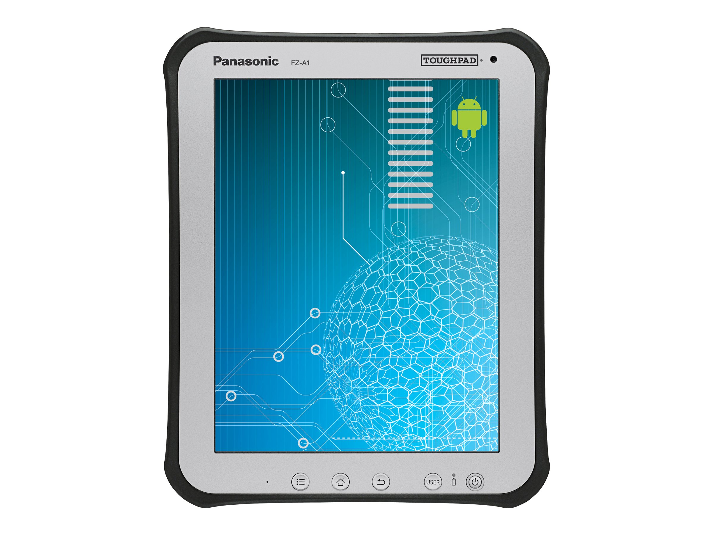 Panasonic Toughpad FZ-A1 ARM 1.2GH 1GB 16GB WLS Verizon 4G 10.1 MT Android 4.0, FZ-A1BDAAV1M, 13551696, Tablets
