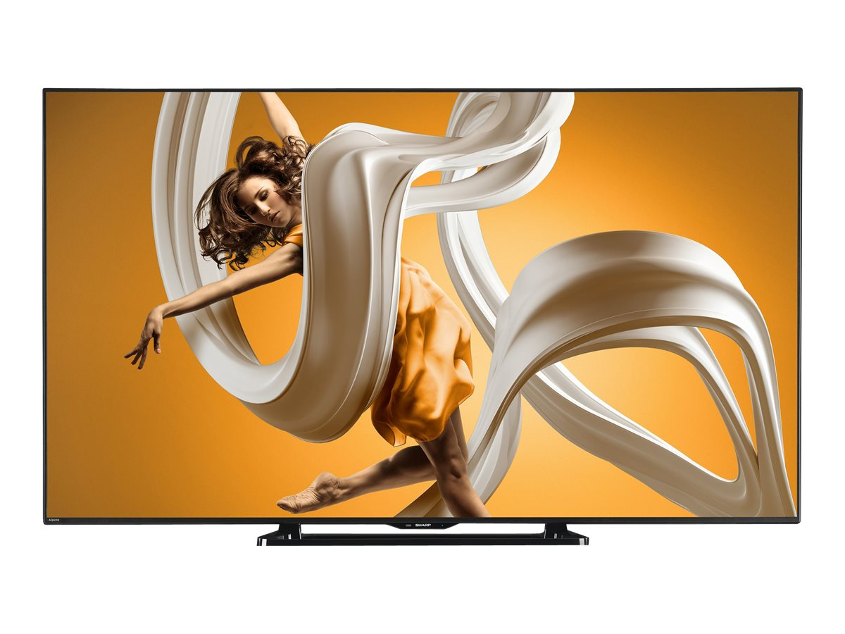 Sharp 60 LC60LE660U Full HD LED-LCD TV, Black, LC60LE660U, 17978582, Televisions - LED-LCD Consumer