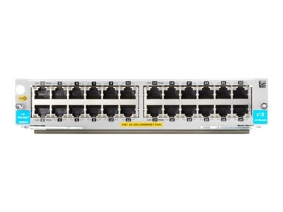 HPE 24-Port 10 100 1000BASE-T PoE+ v3 zl2 Module, J9986A, 20020261, Network Switches