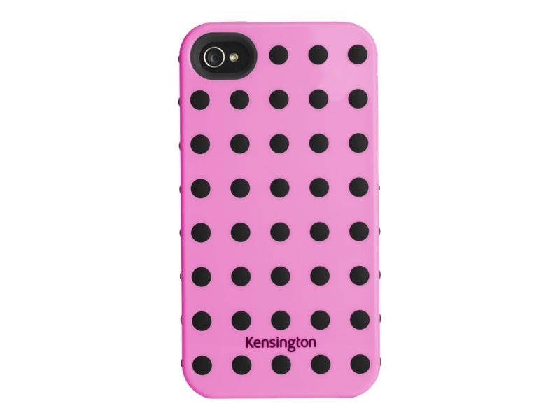 Kensington Combination Case for iPhone 4 & 4S, Pink, K39392US