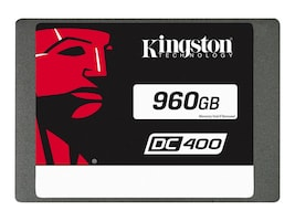 Kingston 960GB SSDNOW DC400 SATA 6Gb s 2.5 SSD, SEDC400S37/960G, 32651561, Solid State Drives - Internal