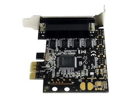 StarTech.com 4-port RS232 PCI Express Serial Card w  Breakout Cable, PEX4S553B, 12719805, Controller Cards & I/O Boards