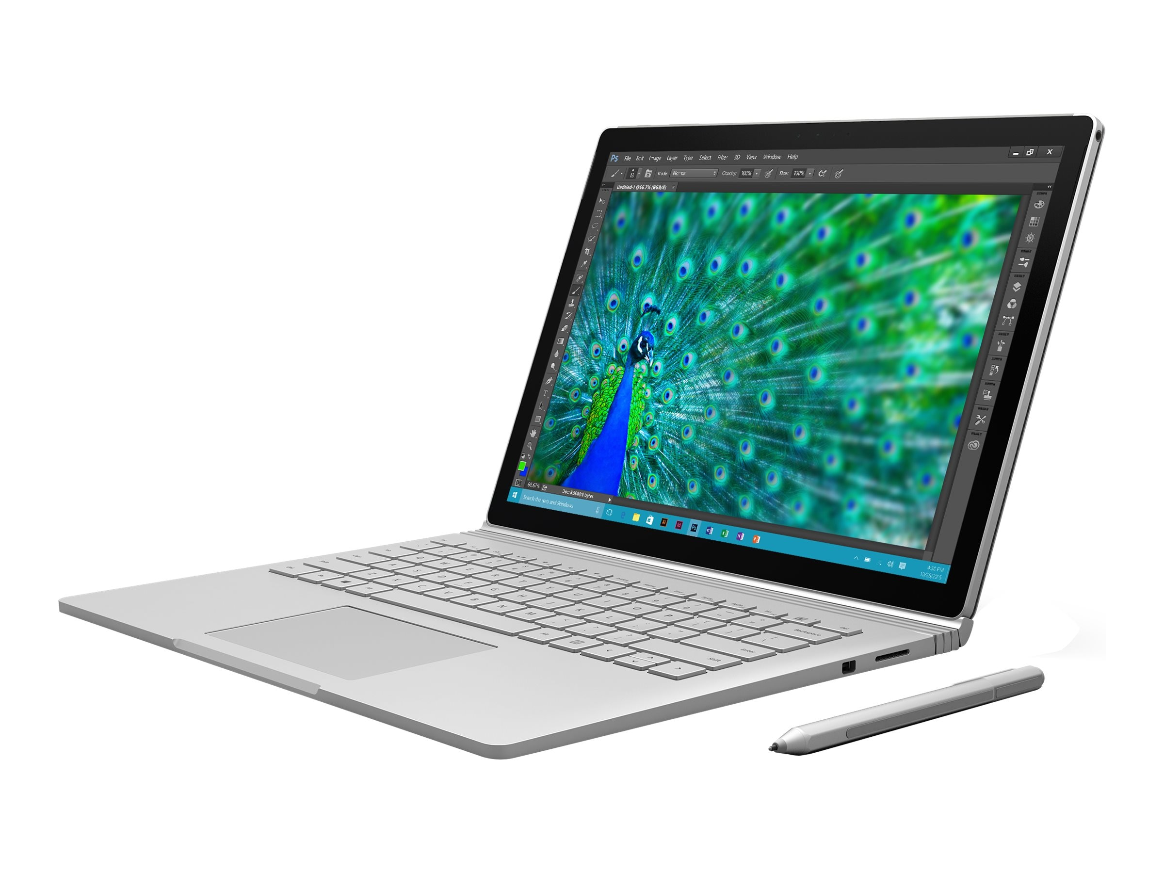 Microsoft Surface Book Core i7 dGPU 16GB 512GB, SW6-00001, 30734259, Notebooks - Convertible