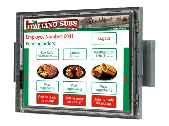 Planar 15 LA1500R LCD Open-Frame Display, 997-5803-02LF, 17987999, Monitors - LCD