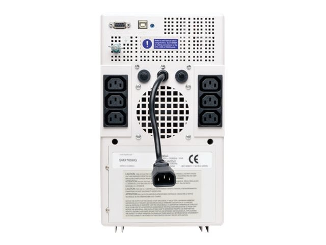 Tripp Lite SmartPro 700VA 450W 230V Medical-Grade Line-Interactive UPS, Tower, Full Isolation, USB, DB9 Serial, SMX700HG