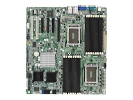 Tyan Motherboard, Dual 1944 Sockets, SR5690, (16) DIMMs, GFX, LSI SAS2008, (8) SAS Ports, (4) GBE, S8230WGM4NR, 11206215, Motherboards