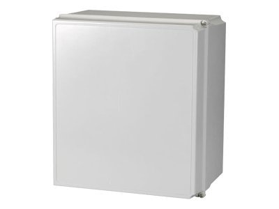 Black Box Wireless Wallmount Cabinet, NEMA 4X, 18h x 16w x 10d, Light Gray, RM100A, 14993314, Racks & Cabinets