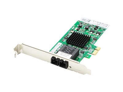 ACP-EP 100Mbps SC NIC PCIe x1 1xSC Controller Network Adapter, ADD-PCIE-SC-FX-X1