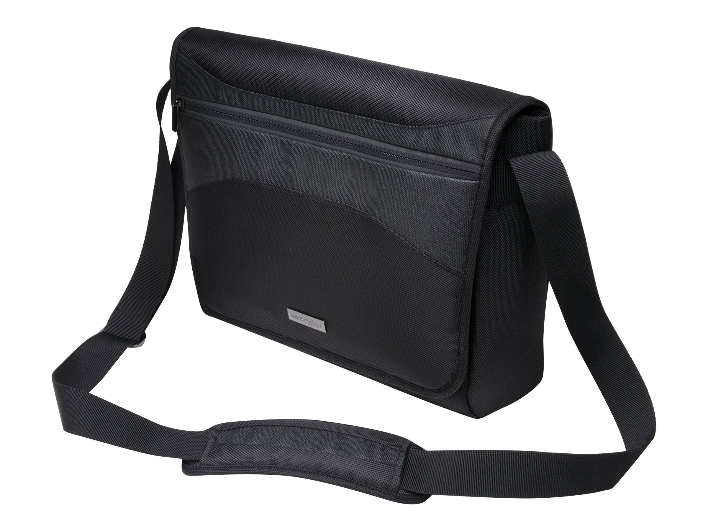 Kensington Messenger Bag for Ultrabook 14 w  Handles & Strap, Black, K62590AM, 15570049, Carrying Cases - Notebook