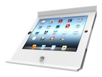 Compulocks Slide Basic POS Stand for iPad 2 3 4, White