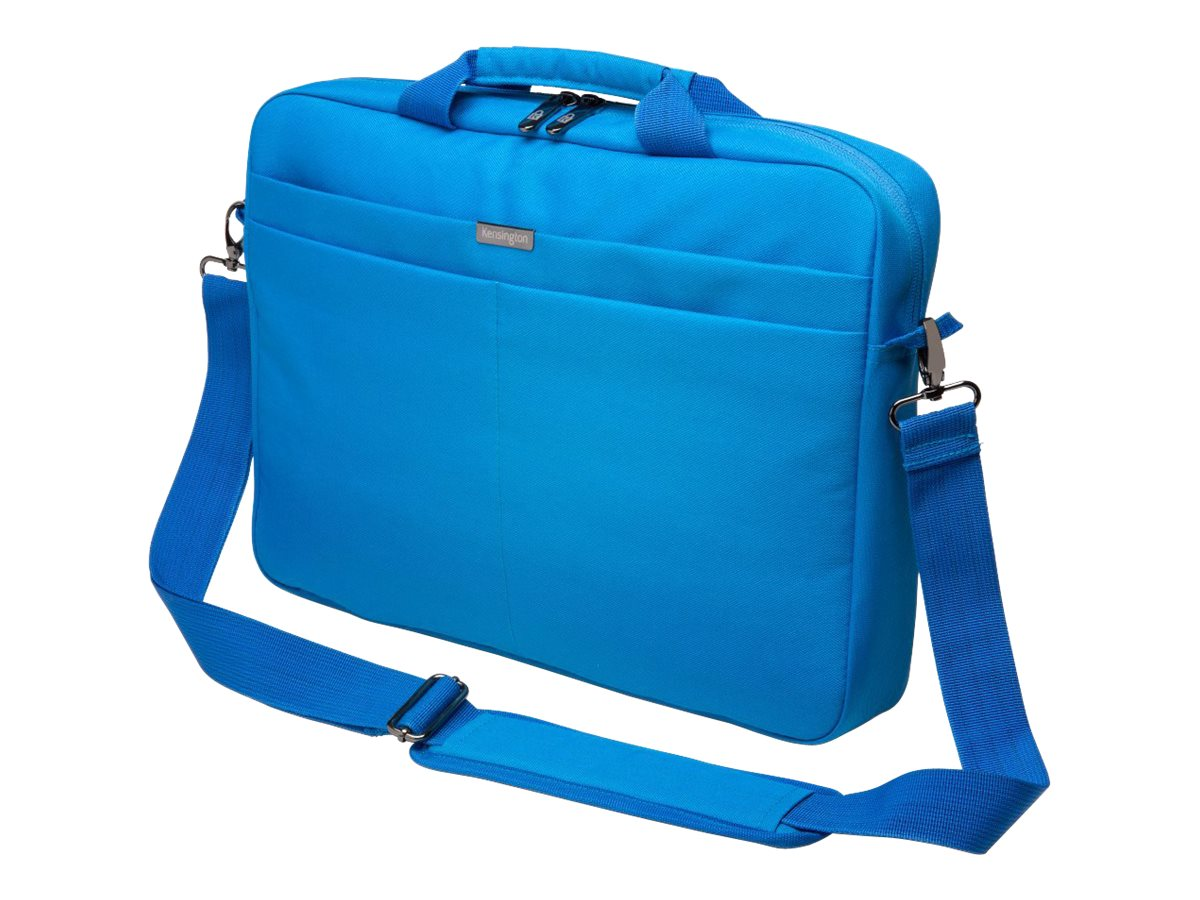Kensington LS240 Laptop Carrying Case 14.4, Blue, K98606WW, 18109135, Carrying Cases - Notebook