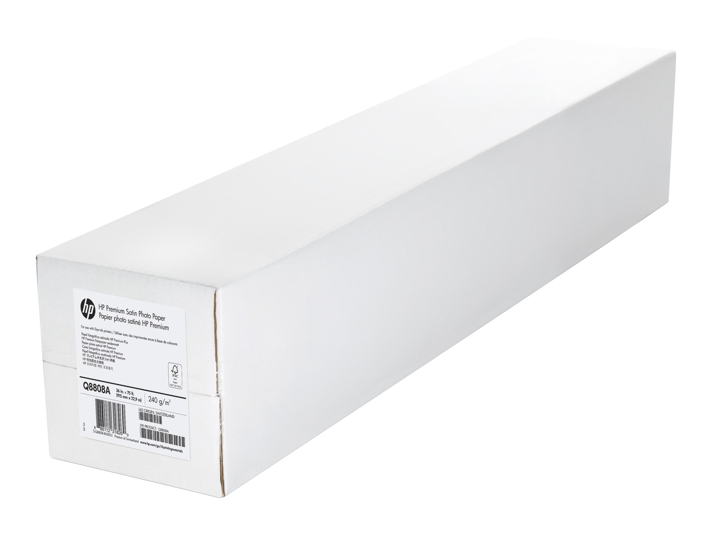 HP 36 x 75' Premium Satin Photo Paper