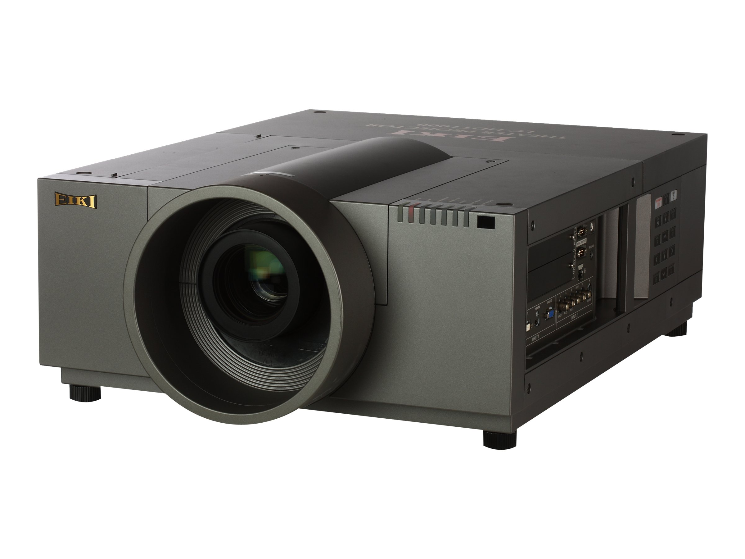Eiki LC-HDT1000 3LCD+One Full HD WUXGA Projector, 10,000 Lumens, Lens Not Included, LC-HDT1000, 15795598, Projectors
