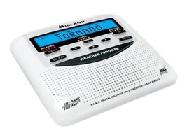 Midland Radio Weather Alert Radio w  S.A.M.E Digital Technology, WR120B, 15557581, Two-Way Radios