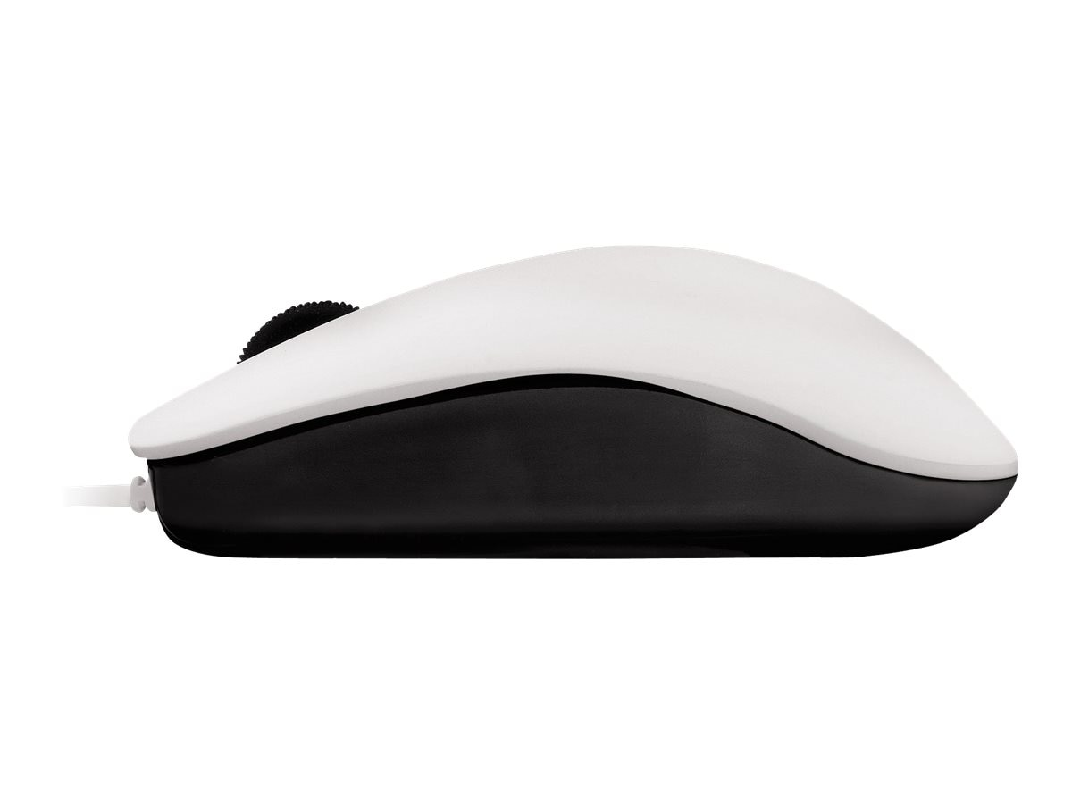 Cherry MC 1000 USB Mouse, 3-Button, 1200dpi, Pale Gray, JM-0800-0