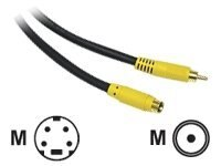 C2G Bi-Directional S-Video to RCA Cable 3ft, 27963, 442041, Cables