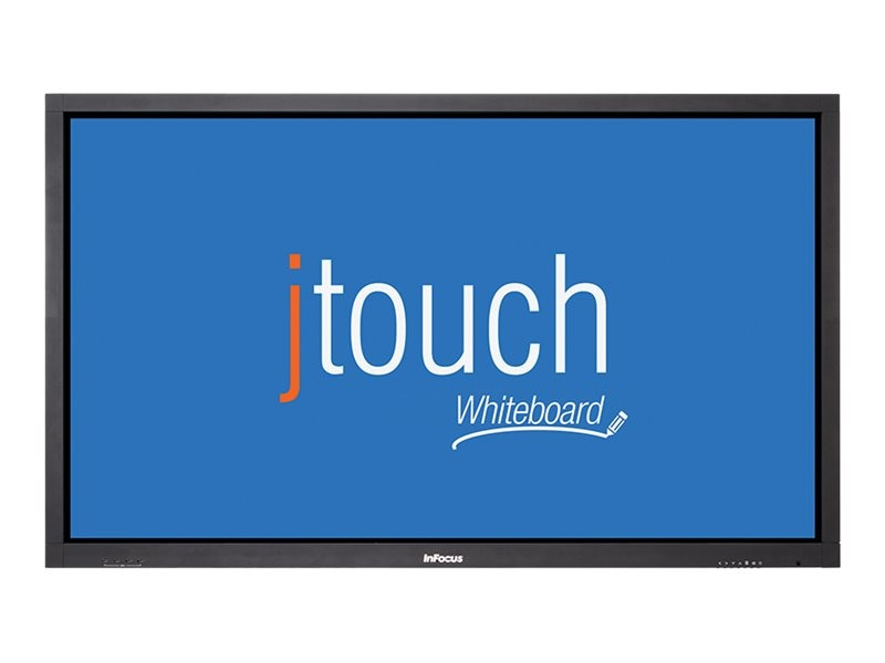 InFocus 65 JTouch Full HD LED-LCD Interactive Whiteboard Display with Anti-Glare, Black