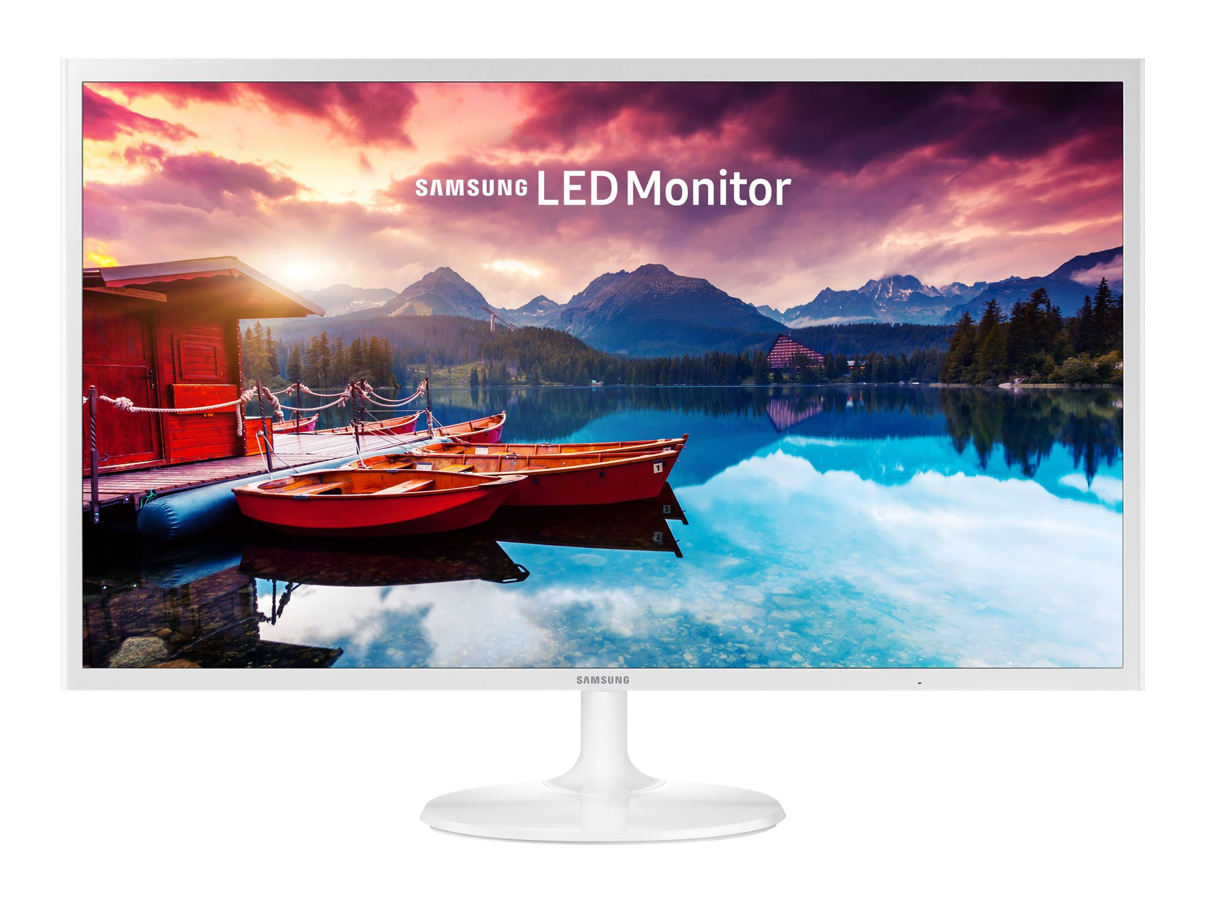 Samsung 31.5 SF351 Full HD LED Monitor, White