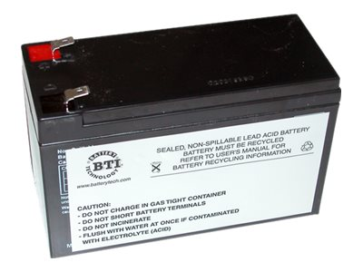 BTI Replacement Battery, RBC2, for Select APC BK and BP 280-500VA Models