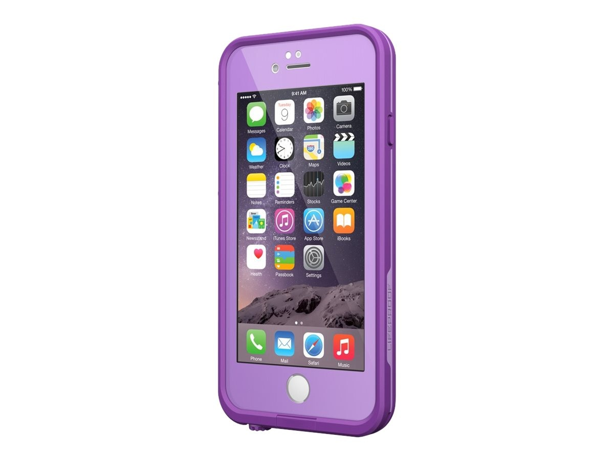 Lifeproof fre V2 for iPhone 6, Pumped Purple, 77-51312, 30683084, Carrying Cases - Phones/PDAs