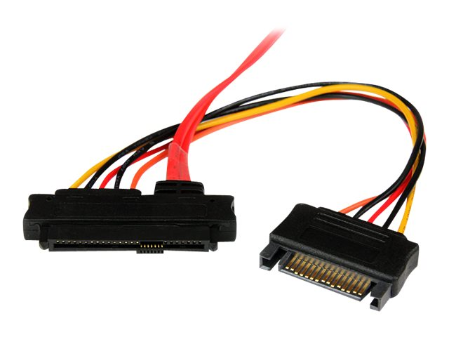 StarTech.com Internal Serial Attached SCSI Mini SAS Cable, SFF8087 to 4x SFF8482, 50cm, SAS808782P50