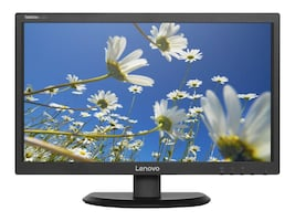 Lenovo 21.5 E2224 Full HD LED-LCD ThinkVision Monitor, Black, 60DAHAR1US, 30935835, Monitors