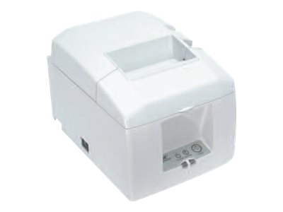 Star Micronics TSP650 Thermal LAN Cloud Printer - White w  Auto-cutter & Power Supply, 37966010