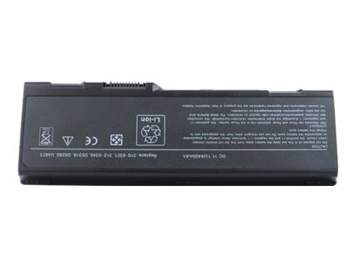 Arclyte Battery 6-cell for Dell, N00103LW, 16205473, Batteries - Notebook