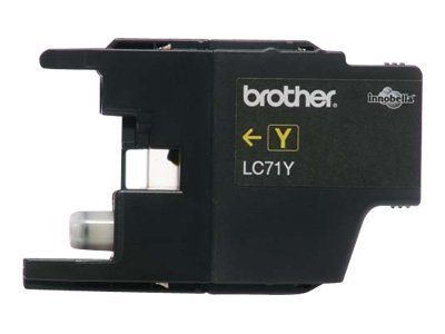 Brother Yellow Innobella Ink Cartridge for MFC-J280W, MFC-J425W, MFC-J430w, MFC-J435W, MFC-J625DW