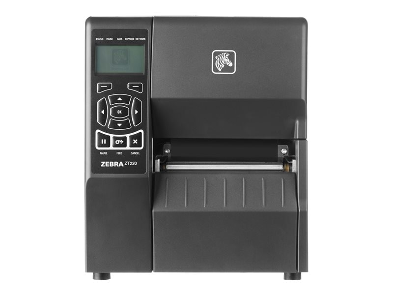 Zebra ZT230 TT 203dpi Serial USB Printer, ZT23042-T01200FZ