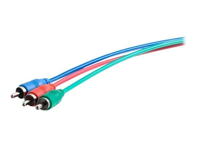 C2G Component Video Cable (M-M), CMG Rated, 50ft, 40123, 15136568, Cables