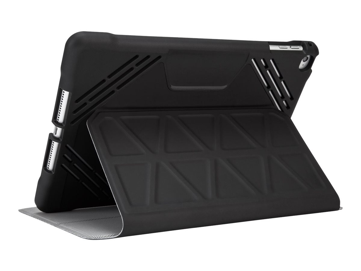 Targus 3D Protection Case for iPad Air Air 2 7.9, Black, THZ612GL