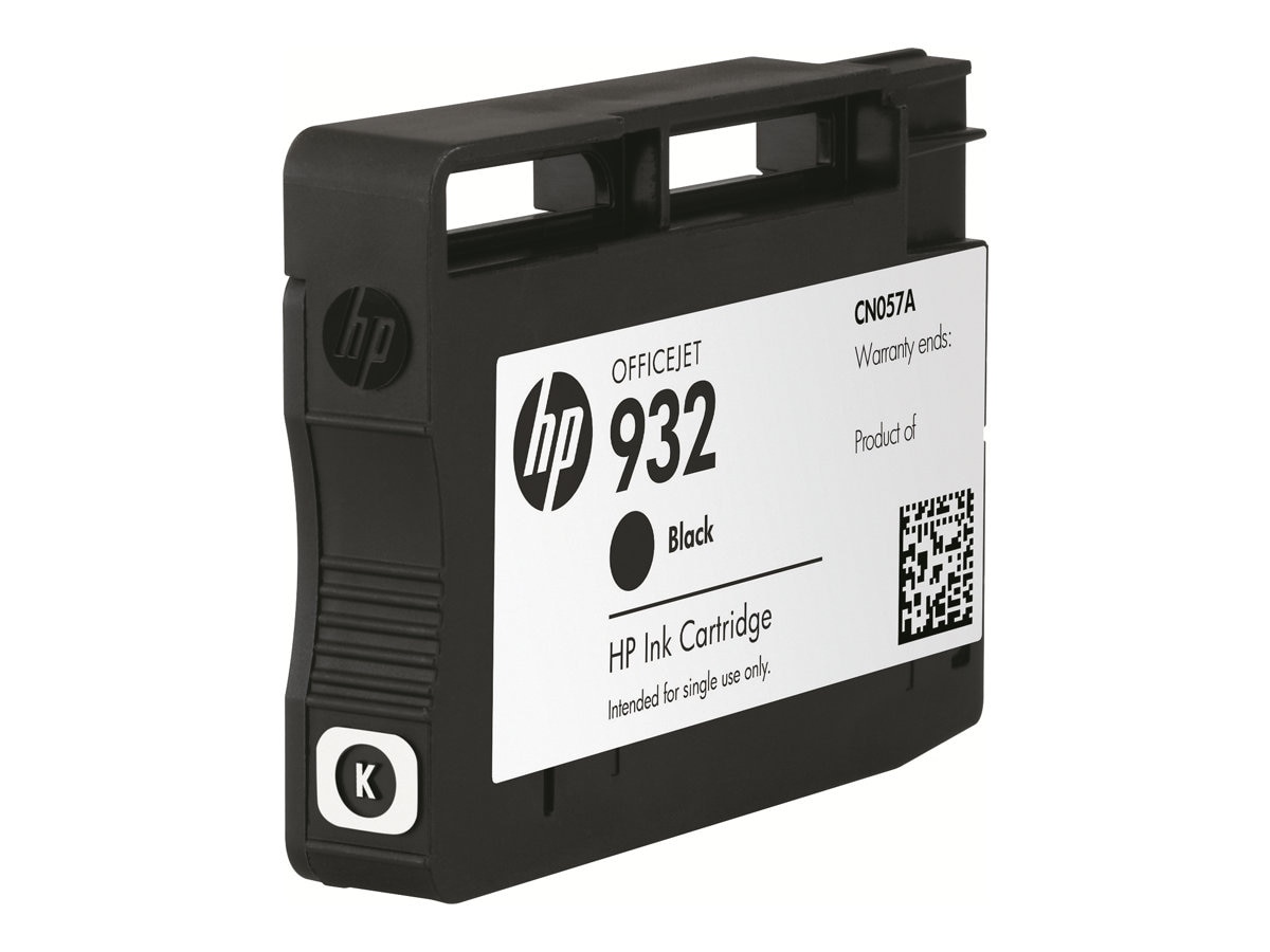 HP 932 (CN057AN) Black Original Ink Cartridge, CN057AN#140, 13469465, Ink Cartridges & Ink Refill Kits