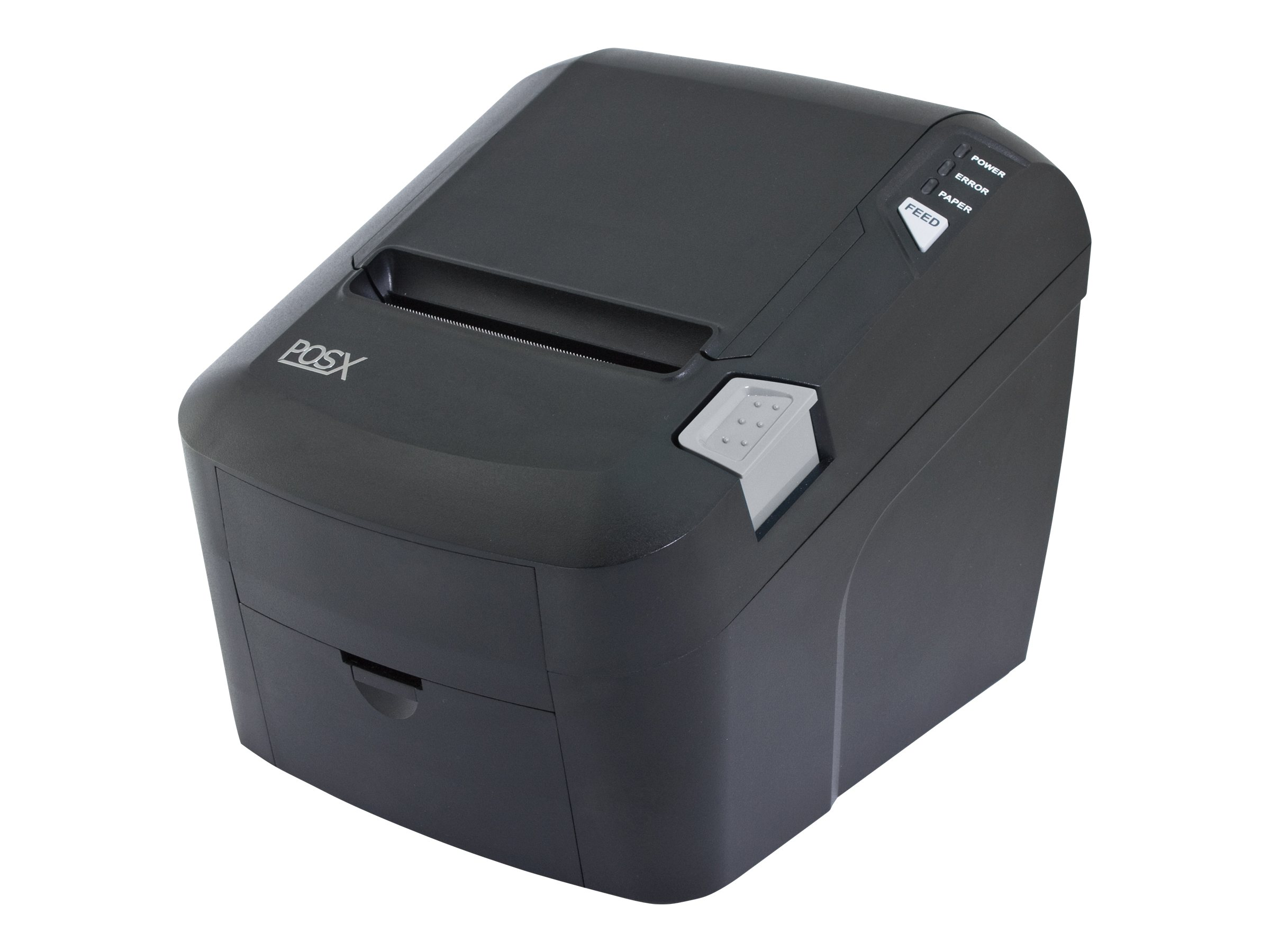 Pos-X EVO HiSpeed USB Ethernet Thermal Receipt Printer - Black, EVO-PT3-1HUE, 16021535, Printers - POS Receipt