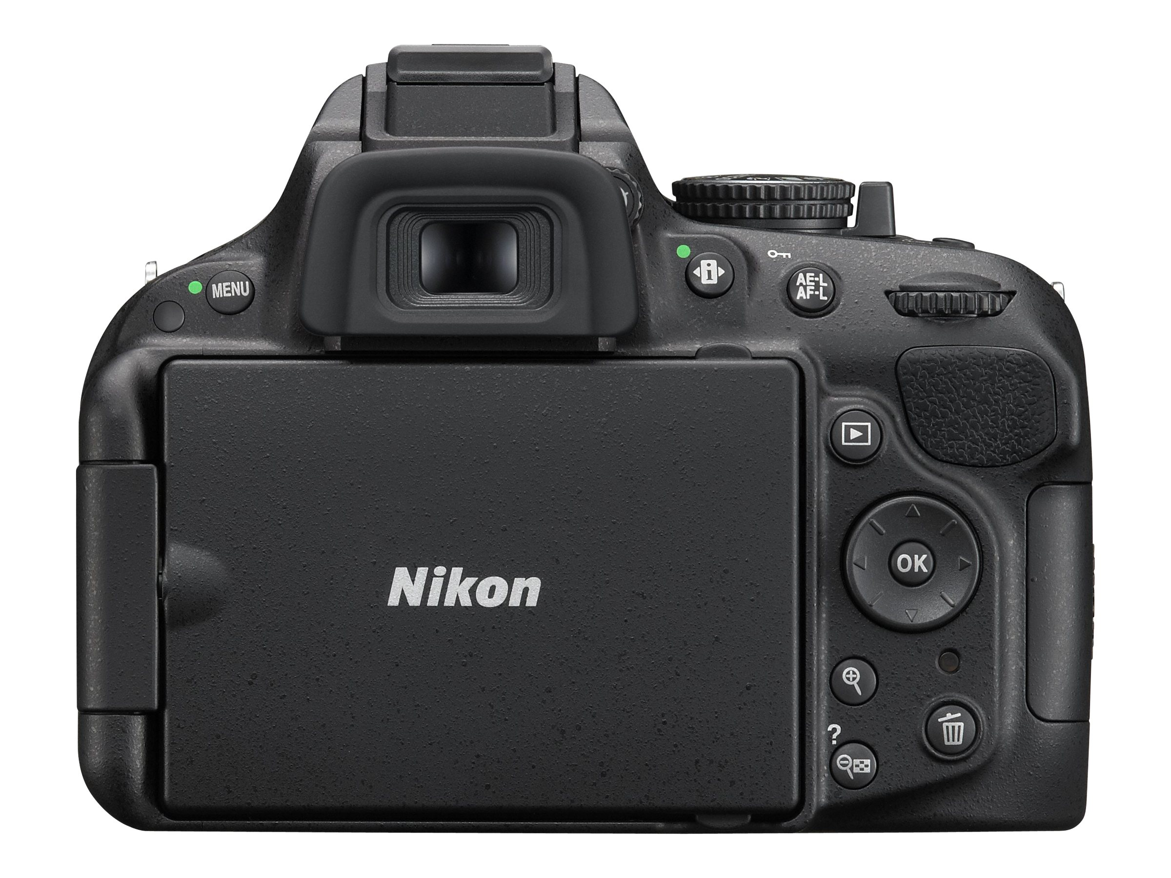 Nikon D5200 Digital SLR Camera, Black (Body Only), 1501