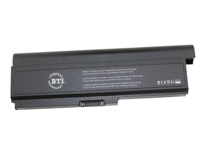 BTI Battery for Toshiba Satellite M300, M305, M305D, U400, U405, U405D SER, TS-M305X9