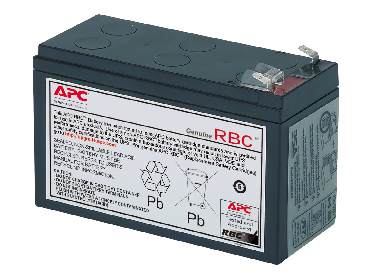 APC Replacement Battery Cartridge #17 for BP700, BE650, BE725, BE750 models, RBC17