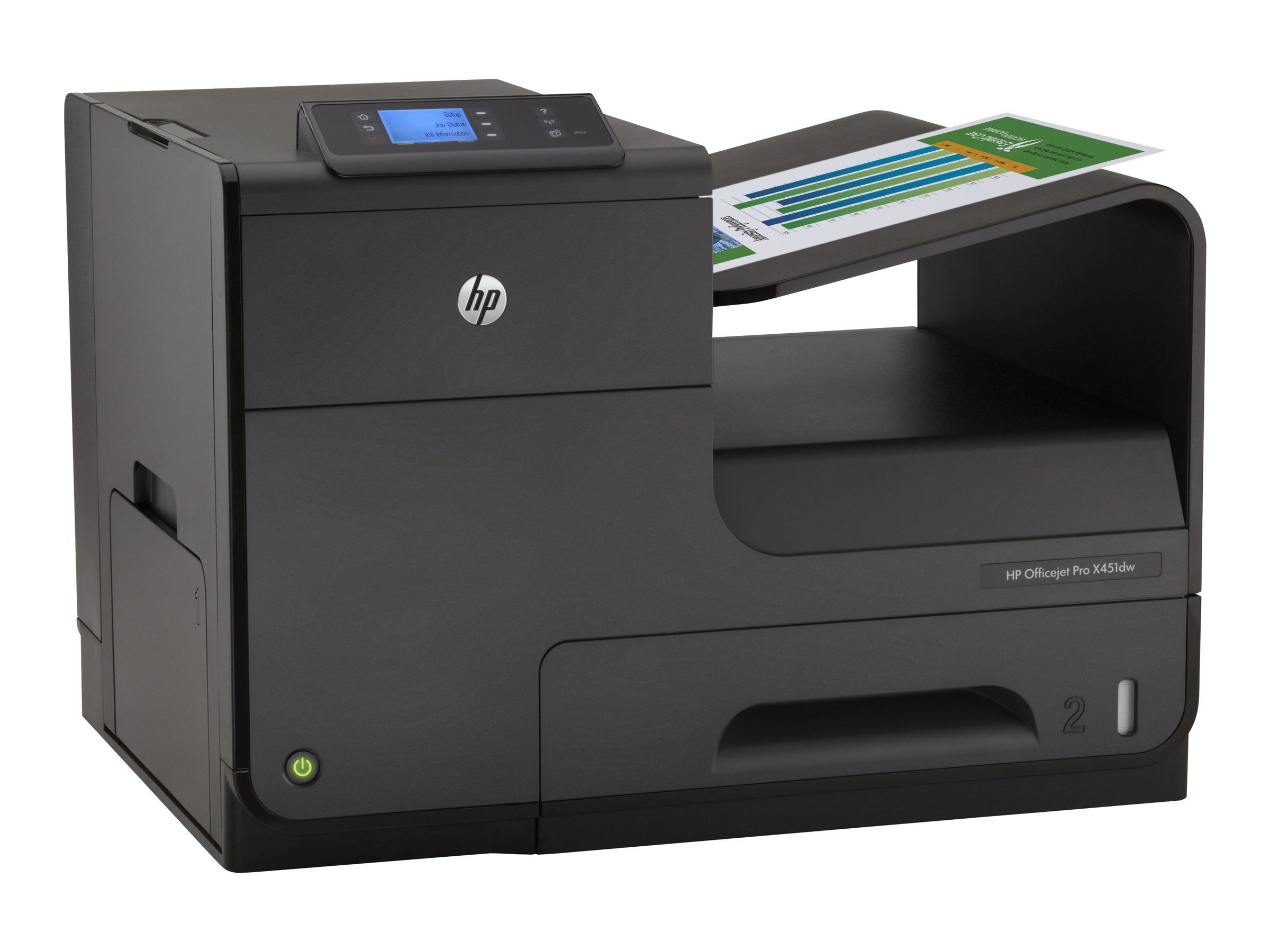 HP Officejet Pro X Series X451dw Color Printer, CN463A#B1H