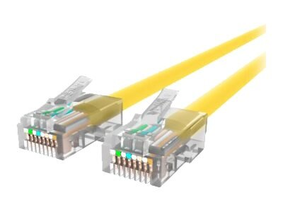 Belkin Cat6 Non-Booted UTP Patch Cable, Yellow, 6ft
