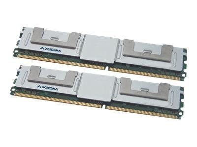 Axiom 8GB PC2-6400 DDR2 SDRAM FBDIMM Kit for ProLiant, Workstation Models, 484062-B21-AX, 16279202, Memory