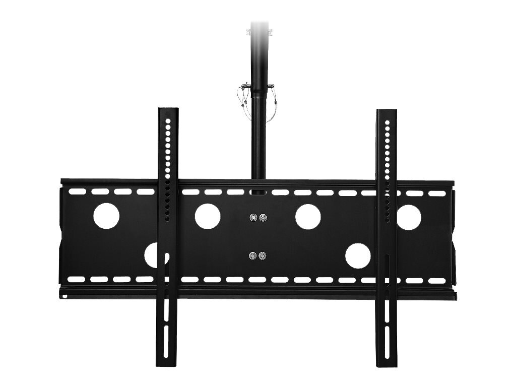 Siig Universal Tilting Ceiling Mount for 32-60 Flat Panels, Black, CE-MT0T12-S1, 13705860, Stands & Mounts - AV
