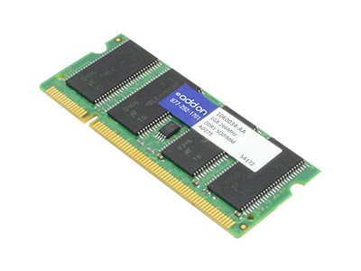 ACP-EP 1GB PC2100 200-pin DDR SDRAM SODIMM, 10K0034-AA