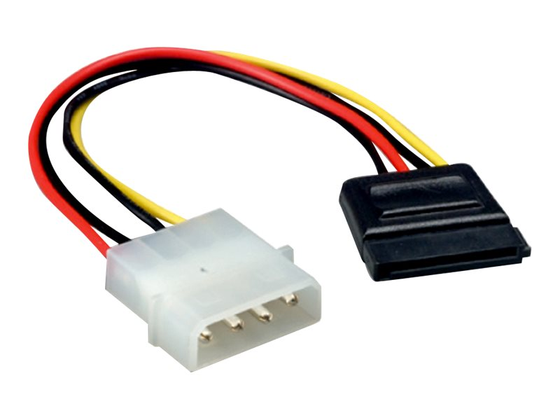 Comprehensive Serial ATA Power Adapter 5.25 Male to SATA Power Cable, SATAM-PW-ADP, 17780453, Cables
