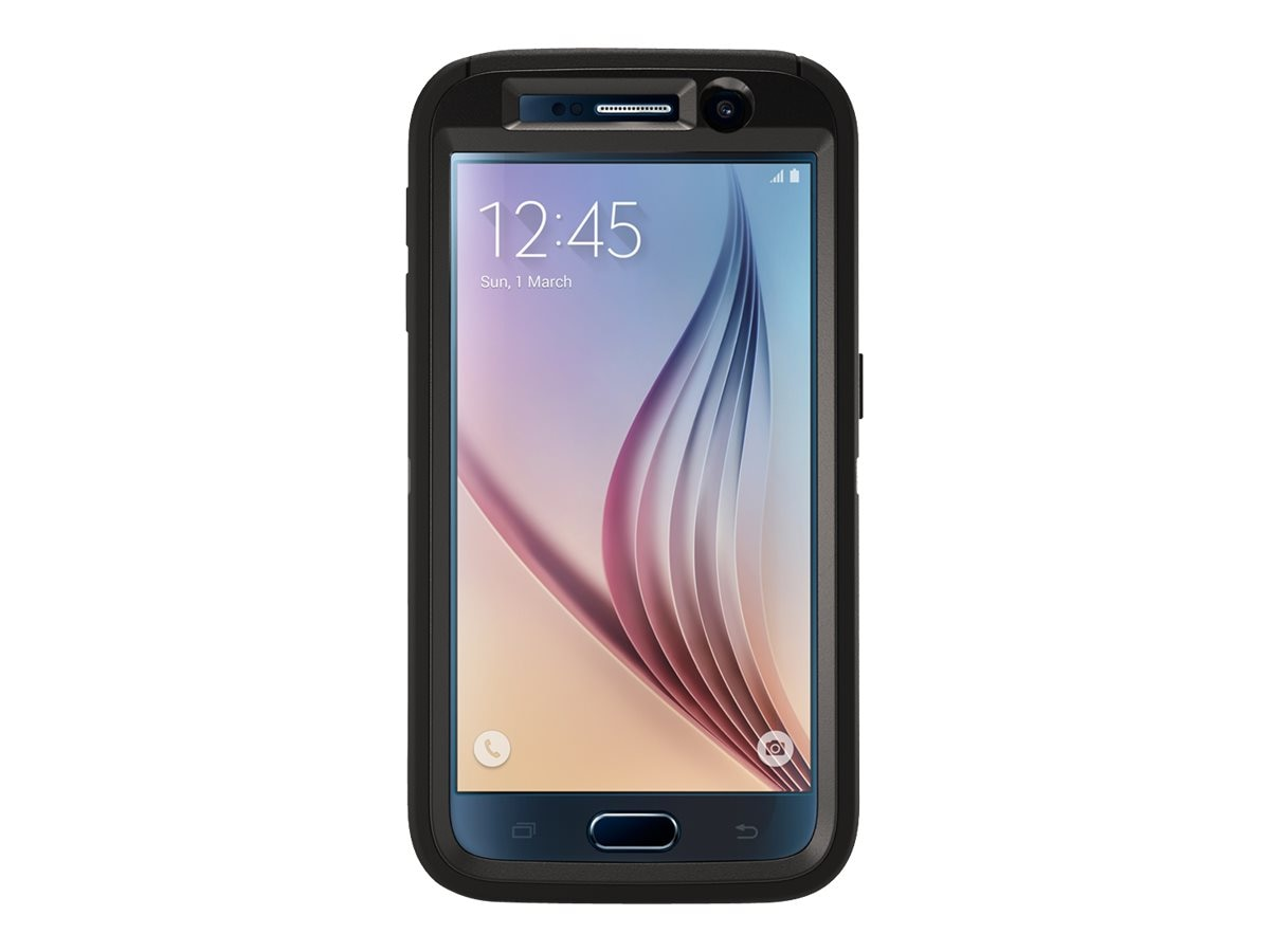 OtterBox Defender for Samsung Galaxy S6, B2B Pro Pack, Black