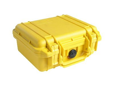 Pelican 1600 Hard Case w  Foam 21.43x16.5x7.87 Pick n Pluck, Yellow